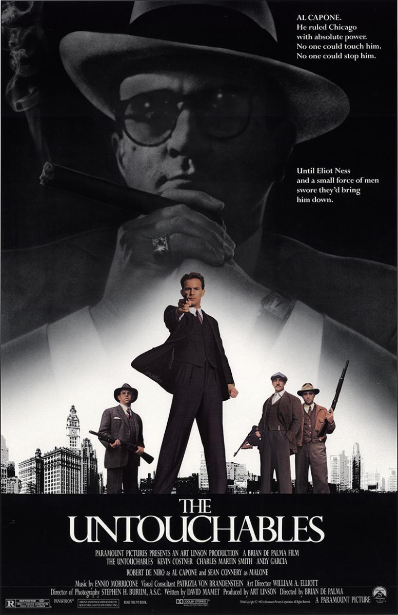 LOS INTOCABLES DE ELIOT NESS (1987) [BLURAY 720P X264 MKV][AC3 5.1 CASTELLANO] torrent